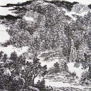 《秦山流泉》