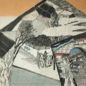 李建博作品《山水之三》