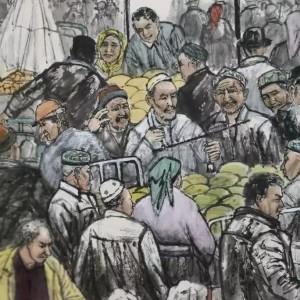 喀什集市2