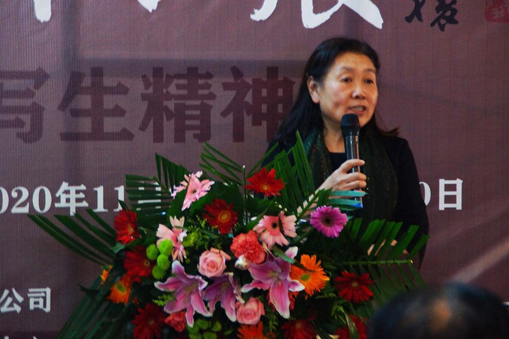 4、西安基石文化艺术传媒有限公司文化顾问薛淑华女士致辞.jpg
